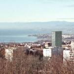 Vu de Sauvabelin (photomontage de la Ville)
