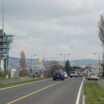 Route du lac, vers l'EPFL